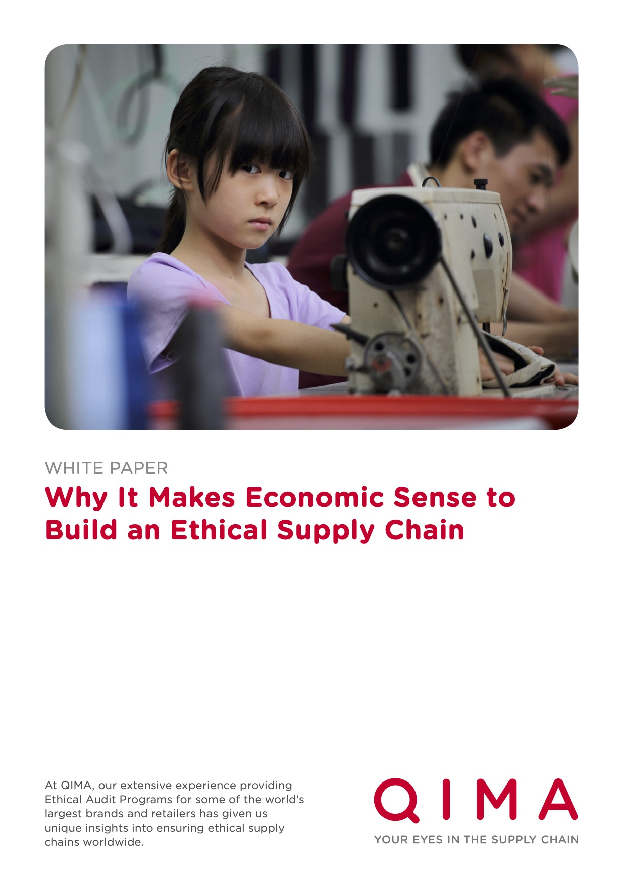 Ethical Supply Chains an Investment, Not a Cost