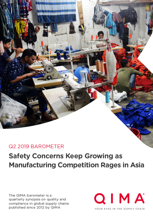 Q2 2019 Barometer: Safety Concerns Keep Growing as Manufacturing Competition Rages in Asia