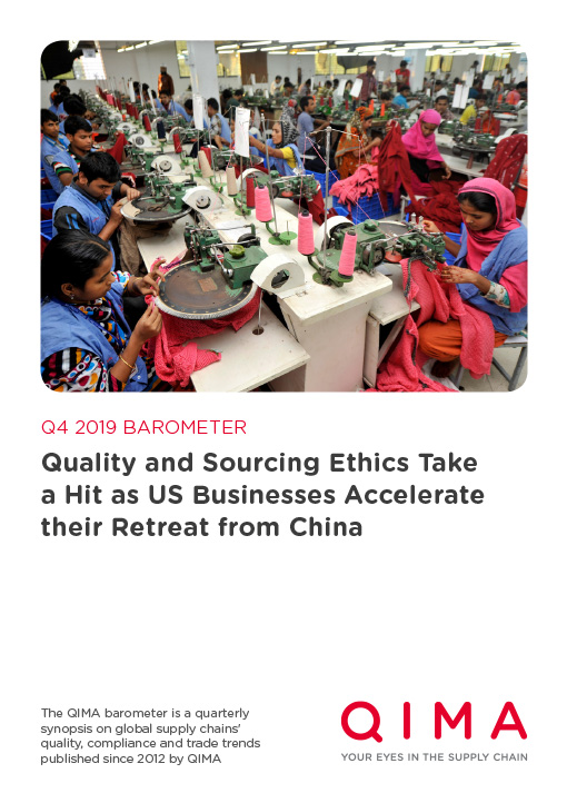 Q3 2019 Barometer: Global Sourcing Trends: Brands Look Beyond China's Neighbors to Diversify Their Buying