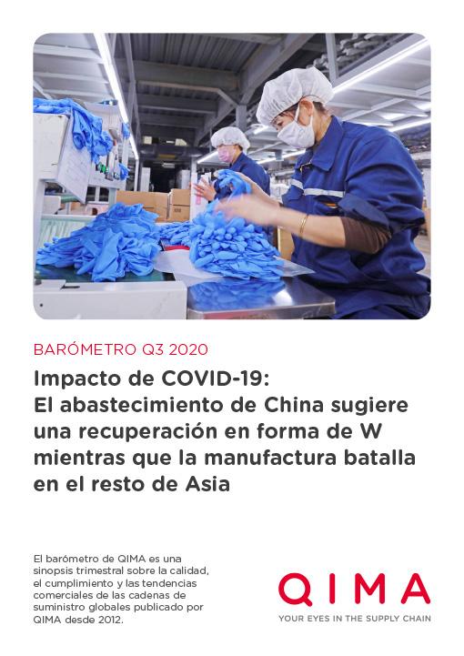 QIMA Q3 2020 Barometer: Impacto de COVID-19: El abastecimiento de China sugiere una recuperación en forma de W mientras que la manufactura batalla en el resto de Asia