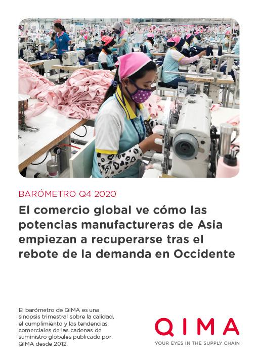 QIMA Q4 2020 Barometer: El comercio global ve cómo las potencias manufactureras de Asia empiezan a recuperarse tras el rebote de la demanda en Occidente
