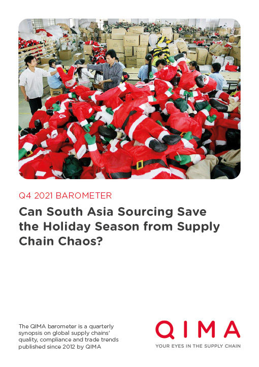 Q4 2021 Barometer: Can South Asia Sourcing Save the Holiday Season from Supply Chain Chaos?