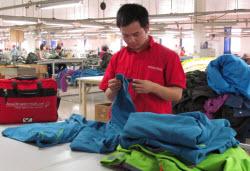 Quality Control Inspection – Vietnam Textile Factory   QIMA