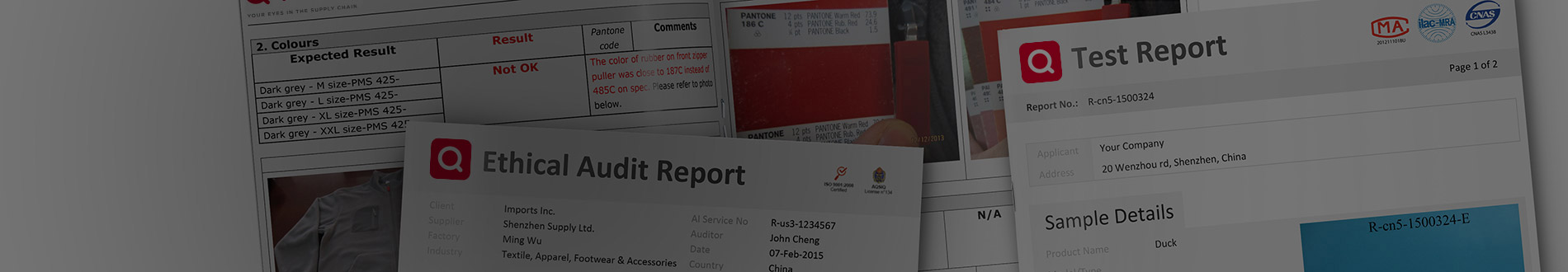Supply Chain Audit & Inspection Sample Reports | QIMA