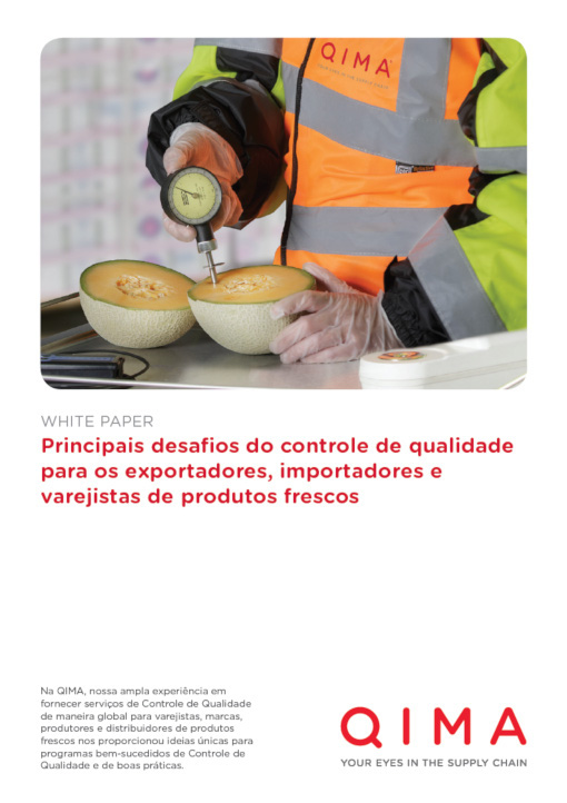 Desafios de controle de qualidade para os importadores, exportadores e varejistas