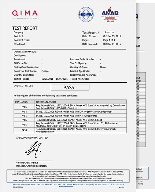 Manufacturing Audit Report Sample | AsiaInspection U2013 Manufacturing Audit  Example