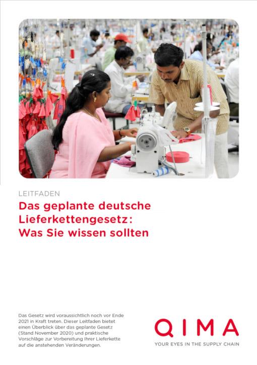 Das geplante deutsche Lieferkettengesetz (2021): Was Sie wissen sollten