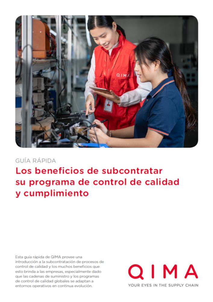 Los beneficios de subcontratar su programa de control de calidad y cumplimiento