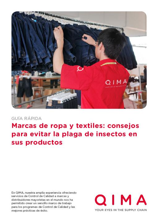 Marcas de ropa y textiles: consejos para evitar la plaga de insectos en sus productos
