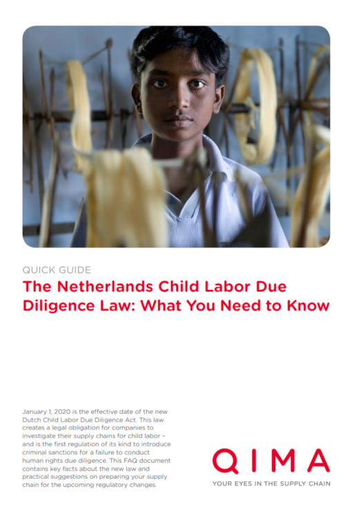 The Netherlands Child Labor Due Diligence Law: What You Need to Know