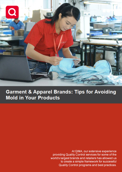 QIMA Technical Update: How to Avoid Mold in Your Garments