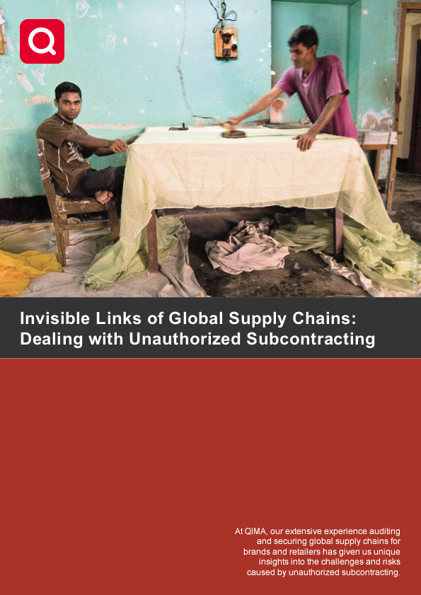 Invisible Links of Global Supply Chains: Dealing with Unauthorized Subcontracting