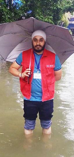 QIMA-Prüfer in Indien