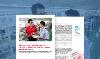 QIMAone white paper about the best practices to empower suppliers with quality and compliance software platform